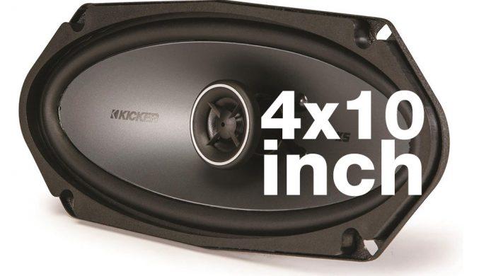 4X10 speakers