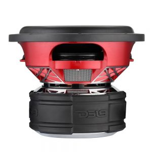 DS18 HELLION-12.4D Helion 12-Inch SPL Competition 3,500 Watts Max Dual Voice Coil 4 Ohms Subwoofer, Set of 1