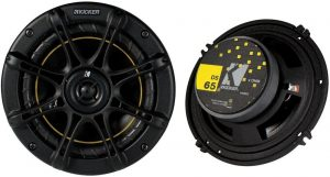 "Kicker DS65 6.5"" Coax Speakers (Pair)"