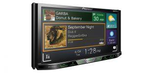 "Pioneer AVHX5800BHS 2-DIN Receiver with 7.0"" Display/Built-In Bluetooth/Siri Eyes Free/AppRadio One/HD Radio"