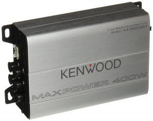 Kenwood 1177524 Compact Automotive/Marine Amplifier Class D Kac-M1824BT, 180W RMS, 400W PMPO, 4 Channel