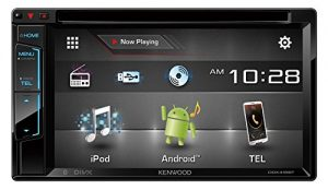 "Kenwood DDX416BT 6.2"" Double Din Touchscreen DVD CD Bluetooth USB iPod Android Siri Eyes Free Dual Phone Connection Variable Color Illumination Car Stereo Receiver"