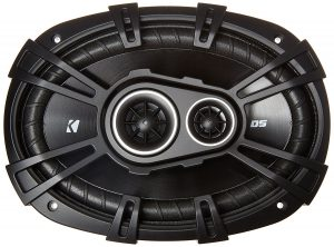 "New Kicker 43DSC69304 D-Series 6x9"" 360 Watt 3-Way Car Audio Coaxial Speakers"
