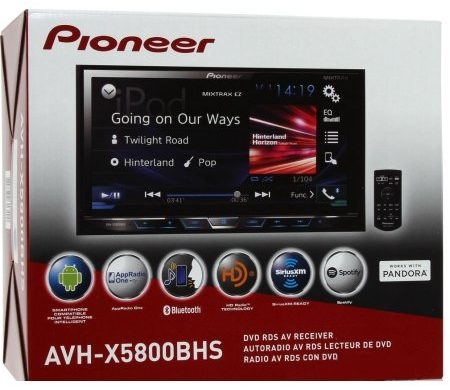 Pioneer AVH-X5800BHS Review