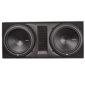 Rockford Fosgate P1-2X12 500 Watts Dual Rms Subwoofer Enclosure